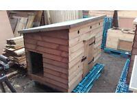dog kennel / shed