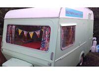 Vintage monza caravan