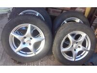 vauxhall Astra rims and tyres