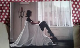 Jack Vettriano Canvas 'In Thoughts of You'