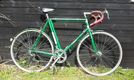 Fred Williams retro touring bike