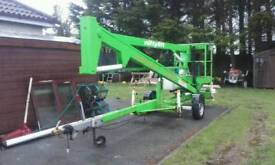 Cherrypicker Niftylift 120 Sale or Swap..Digger or 4x4