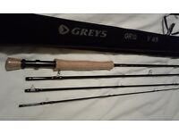 Greys Fly fishing Rod 9ft #8 Brand New