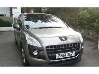 Peugeot 3008 LOW MILEAGE 1.6HDi 5 Door Crossover Excellent Condition, Only 30000 Miles URGENT SALE