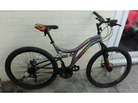 Factory return mountain bike