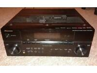 Pioneer 7. 1 surround Amplifier with remote in excellent condition