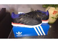 adidas black haven trainers size 7 1/2