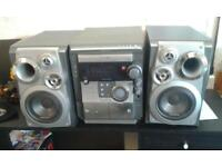 samsung hi fi system with sub woofer speakers