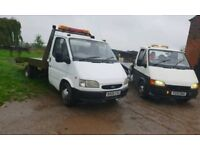 Recovery trucks swap for 1