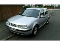 2003 VW GOLF MATCH 1.6 DRIVES GREAT VERY CLEAN FSH LONG MOT