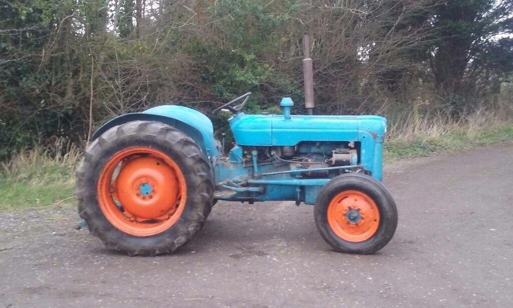 Ford Dexta Tractor : Fordson dexta tractor in herne bay kent gumtree