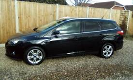 Ford focus zetec estate 2012 1.6 tdci