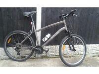 B'Twin Aluminium mountain bike