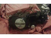110cc semi auto monster pit bike engine