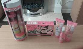 Brand new soap and glory items and sets