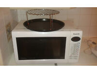 Panasonic Combination (convection + grill + microwave) oven + accessories. Good working condition