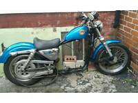 Harley Davidson rolling chassis