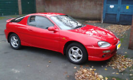 Mazda MX3 1.8 V6 -Red -1997 Manual -Extremely Rare car (130bhp) MOT 2019 -Find another like this.