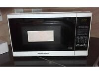 Microwave morphy richards, white good condition ...