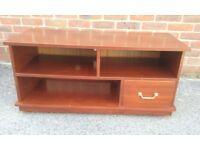 Handbuilt Wooden TV stand