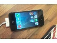 Iphone 4 spares or repair. wont pick up sim