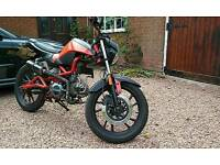 Kymco k pipe 125cc registered as 50cc *custom build*