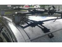 Corsa c roof bars and bike rak