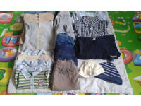Baby clothes bundle 0-6 months 18 items