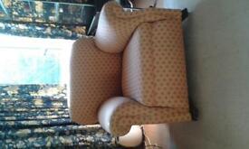 small victorian armchair