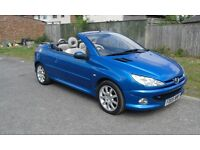 Peugeot 206 cc diesel. very good condition. drives very well. lots of money spent on the car.