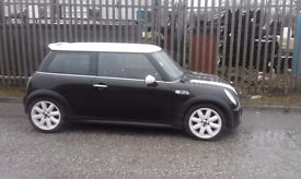 mini cooper s.53 plate with 68k on the clock.cat c light suspention no body work damage.