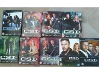 9 CSI Box Sets