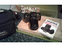 Pentax sfxn camera , sigma , tamrac