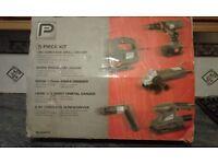 5 piece power tool kit