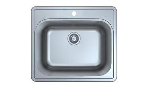 "12"" DEEP Laundry Sink tub - STAINLESS STEEL - BRAND NEW"