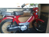 Lightweight 50cc Scooter, Like NEW (only done 37 miles) - (Moped, Motorbike, Vintage, Retro style)