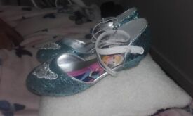 Girls sparkly shoes (frozen disney)size 3 never worn excellent condition