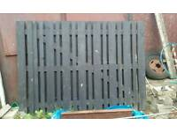 Large timber gates for sale
