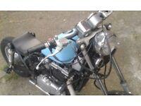 Bobber Kawasaki EN500 1993 Belt Drive 1900 ono