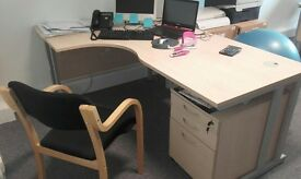 Office furniture new available as list (First sensible offer will get it)