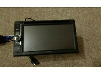 Kenwood head unit with DVD drive