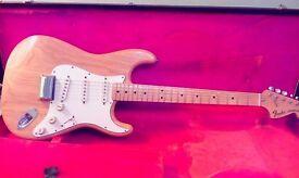 Fender Stratocaster 1974 USA vintage + fender 1967 Stratocaster case. Superb