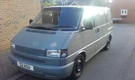 VW Transporter T4, 2001 2.5 TDI (blue) swb. 132,000miles, day van conversion