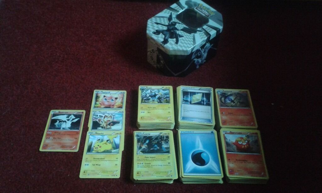 305 pokemon trading cards