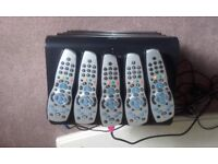 5xsky hd boxes with remotes all working perfectly