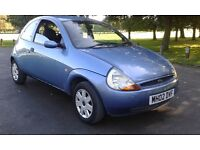 2002 ford ka collection low mileage 12 months mot