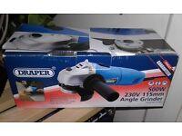 Draper angle grinder