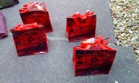 4 plastic bags