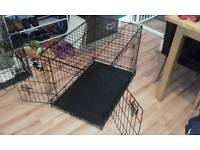Small Dog Cage 2-Door As New