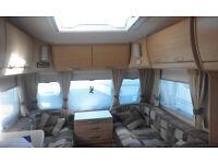 2008 4 berth caravan p/x poss